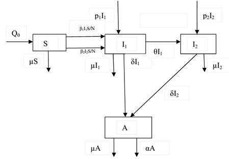Math Model Diagram