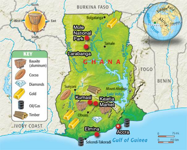 Unsustainable Management of Forests in Ghana from 19002010