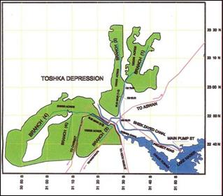 Nile River On World Map Water-Pumping Using Po...