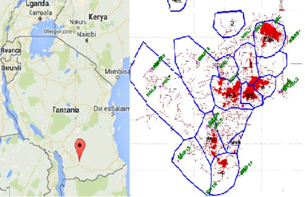 Natural Radioactivity In Water And Its Potential Human Health Risk - Where is tanzania located