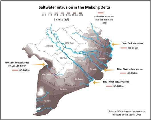 Saltwater Intrusion An Evident Impact Of Climate Change In The - Saltwater intrusion map us