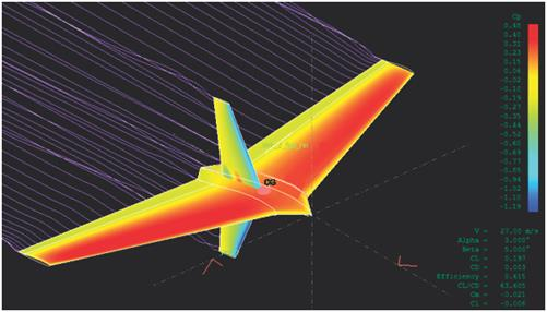 Design of a Small UAV Combined Between Flying-Wing and Quadrotor